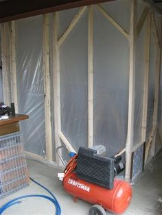 Cabine de Pintura com tubos de PVC / DIY – Paint Booth