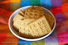 """Gluten Free """"Wheat Thin"""" Crackers Vegan and free from top 8 allergens. I would use a low-glycemic sweetener instead of sugar."""