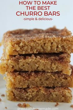 Churros, Mexican Food Recipes, Sweet Recipes, Mexican Desserts, Dinner Recipes, Baking Recipes, Cookie Recipes, Yummy Cookies, Bar Cookies
