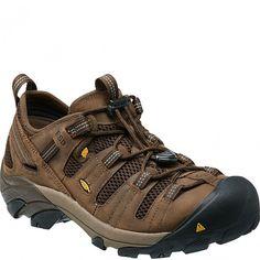 1014604 KEEN Men's Atlanta Cool ESD Work Shoes - Cascade Brown www.bootbay.com