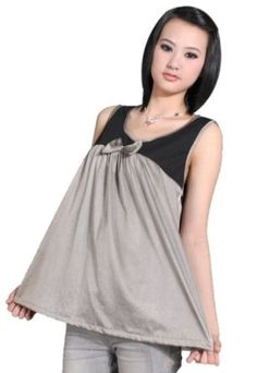 Anti-Radiation Maternity Clothes, Camisole Top with 100% Silver Blend Radiation Shield for Pregnant Women, Desses 8918061 OURSURE.COM. $168.98