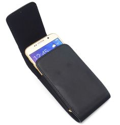 Universal Leather Vertical Case Holster Belt Clip Loop Pouch  $14.99