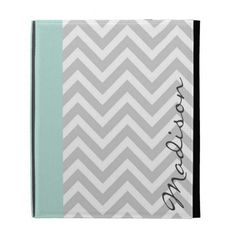 Gray & Mint Modern Chevron Custom Monogram iPad Cases online after you search a lot for where to buyDeals          	Gray & Mint Modern Chevron Custom Monogram iPad Cases please follow the link to see fully reviews...
