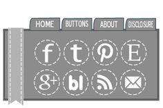 The Latest Find's Make It Create - DIY, Tutorials, Recipes, Digital Freebies: Freebie Social Media Icons