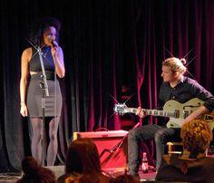Becky Sikasa performs at Napier University Students Showcase Night 09.12.14