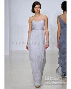 Wholesale Fall Newest Hot Sale Beautiful Sample Sweetheart Long Bridesmaid Dresses Homecoming Dress B082107, Free shipping, $61.6-70.56/Piece | DHgate