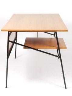 Schreibtisch retro oslo scandi design schreibtisch for Schreibtisch schmal