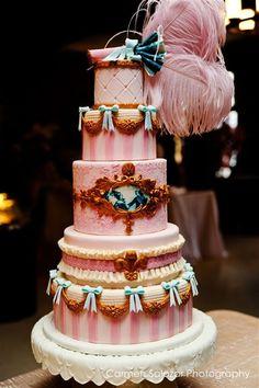 Romantic baroque cake