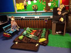 Allotment role play - autumn