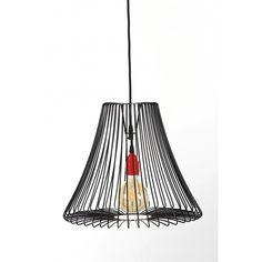Lampa druciana industrial Shade - JABBA Design Industrial, Shades, Ceiling Lights, Retro, Lighting, Pendant, Design, Home Decor, Decoration Home