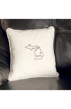 CATHY'S CONCEPTS 'Home State' Pillow available at #Nordstrom