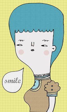 smile #smile #illustration #smile