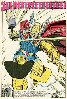 Marvel Comics of the 1980s: 1987 - Anatomy of a splash page - Thor #380