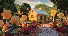 Foodscapes: paisagens de comida by Carl Warner