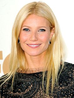 Gwyneth Paltrow in her natural shade of blonde. Beautiful!