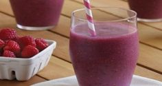 pear-raspberry slusher
