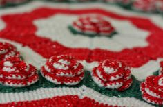 Crochet Knitting Artigianato: Natale centrino