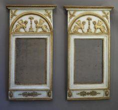 Swedish Antique Furniture Mirrors Scandinavian Sweden Danish German European