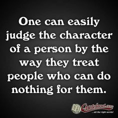 Judge no man