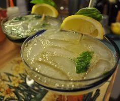 Kate's Kitchen: Lemon Basil Margarita