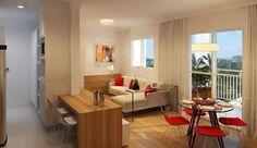 Dicas de Decoração Para Apartamentos Pequenos Prateleiras Casa Show Decoração-de-ambientes-pequenos-291