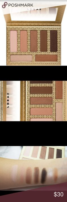 LORAC Riesling Romance Eye Shadow Palette New in box. Unopened. Achieve a beautiful natural look with this romantic, minimalistic palette. Great for on the go. 7 different shadows in matte and shimmer. Has a mirror on inside cover. Luxe Gold exterior. LORAC Makeup Eyeshadow