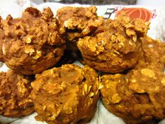 Sisters Do Food and Fitness: Low-Cal Pumpkin Oatmeal Muffins
