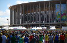 Estádio Nacional in Brasília, the capital. Celso Junior/Getty Images