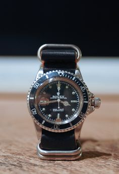 a rugged looking vintage (1960's) rolex