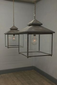 Love this pendant lighting! So rustic and pretty.  The Galley Lantern