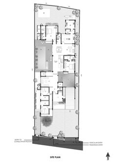 Gallery of The Axial House / VM Architects - 22 Bed Design, House Design, Isometric Design, Floor Layout, Contemporary Style, Modern, Ground Floor Plan, Innovation Design, Layout Design