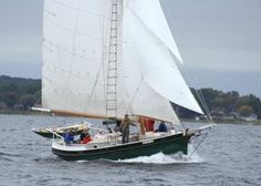 Champion is used in a wonderful at youth risk program that helps kids learn the joy of sailing while learning they have control of thier own lives. MaritimeHertiageAlliance.org  Photography of Peggy Sue Zinn