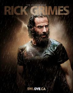 'it's hard to trust anybody who smiles after getting punched in the face' Rick Grimes The Walking Dead 2, Walking Dead Tv Series, Andy Lincoln, Walker Stalker, Punch In The Face, Stuff And Thangs, Rick Grimes, Dead Man, Comic Book Covers