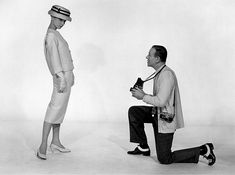 "Audrey Hepburn and Fred Astaire. Promotional photo for ""Funny Face"" (1957)."