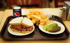 Pastrami Sandwich at Katz Deli, NY