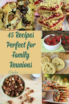 Yummy recipes that are perfect for the whole family -- everyone will enjoy these foods! #ClarksCondensed
