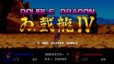 Double Dragon IV Review - Kick, Punch, You All Remember - http://techraptor.net/content/double-dragon-iv-review | Gaming, Reviews