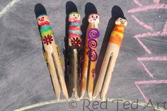 Fun, quick, easy. Lots of play - our Pirate Clothes Pins as per a 2.5yrs and a 4yrs old!