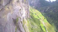 Wingsuit From Via Ferrata to Waterfall