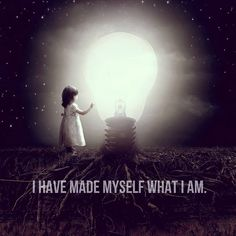 I have made myself what I am.  I am an idea of myself. I would not trade places with anyone because I have spent so much time on becoming and unbecoming who I am.   #identity #self #create #selflove #selfaware #tradeplaces #idea #change #emergence #light #shdows #balance #vehemence #quote #tecumseh #reflect #love #wellness #mindfulness #vehemenceandemergence