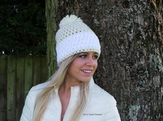 This is my best selling crochet hat pattern and part of my Luxury Hat pattern collection. LEVEL - EASY The Nordic snow hat is a beginner friendly pattern! It has lots of textural interest and is made with an easy stitch pattern using super chunky yarn. It has a stunning white snow