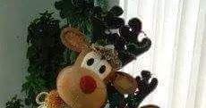 Christmas Teddy Bear, Plush, Christmas Ornaments, Holiday Decor, Animals, Vintage, Toy, Women's Fashion, Home Decor