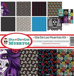 Reminisce DDL200 Dia De Los Muertos Scrapbook Collection Kit -- Find out more about the great product at the image link.Note:It is affiliate link to Amazon.