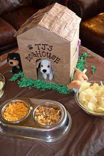 GreyGrey Designs: {Real Parties} TJ's Puppy Party