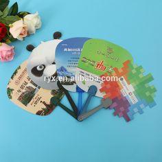 durable rectangular shape pp plastic advertising fan with long handle, View pp plastic advertising fan, Rui Yin Xiang Product Details from Guangzhou RuiYinXiang Stationery Co., Ltd. on Alibaba.com