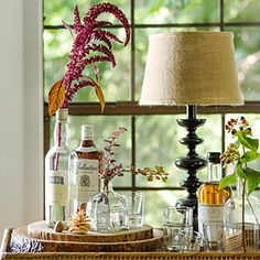 10 natural & earthy decorating ideas | Nature-inspired bar | Sunset.com
