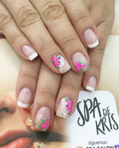 Glam Nails, Pink Nails, My Nails, Cute Pedicure Designs, Nail Art Designs, Cute Nail Art, Cute Nails, Mani Pedi, Manicure And Pedicure