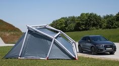 Nest Caravan - The Nest Caravan is a stylish camping or glamping trailer that is designed for road-trippers who like to take their luxuries and home comforts with. Sports Scores, Home Comforts, Car Brands, Glamping, Caravan, Outdoor Gear, Tent, Weird Things, Target