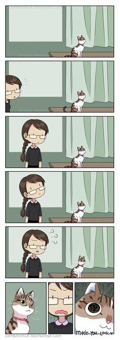 Ceiling Cat by Zombiesmile.deviantart.com on @DeviantArt