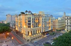 Hotel Parque Central - Havana. One of the beautiful hotels included in our 5-Star Cuba tour, this hotel is situated in the heart of the Old Town, just a short distance from the Capitol building. The hotel itself features restaurants, bars, jacuszzi, rooftop pools, and stunning city views.